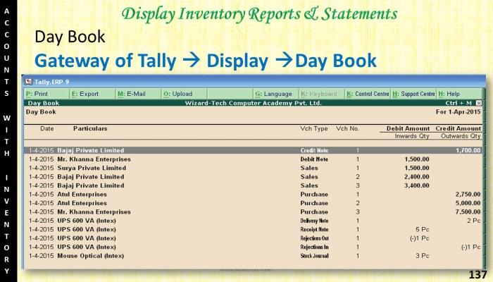 tally (137)